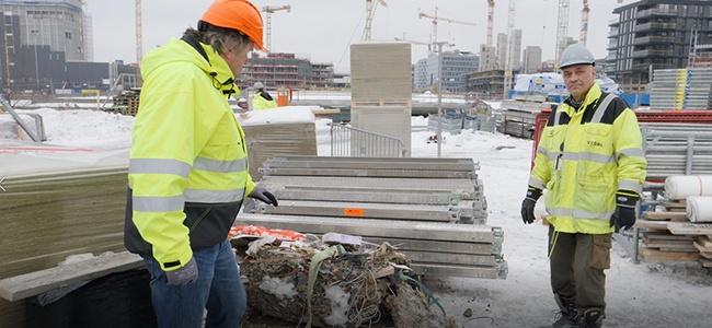 Norsk-Gjenvinning_Vedal_Bjørvika_null-restavfall-på-byggeplassen