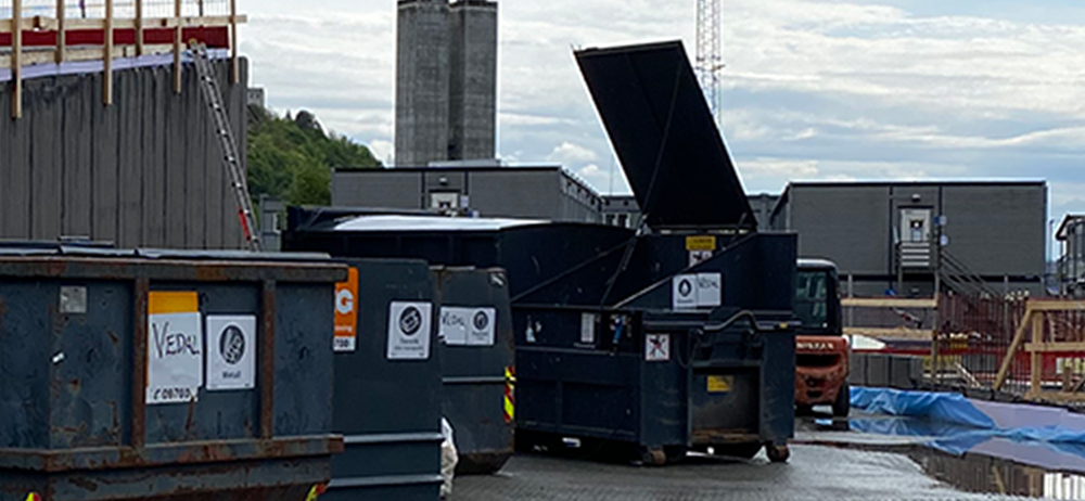 Innovasjon på byggeplass: Minimering av avfallsvolum
