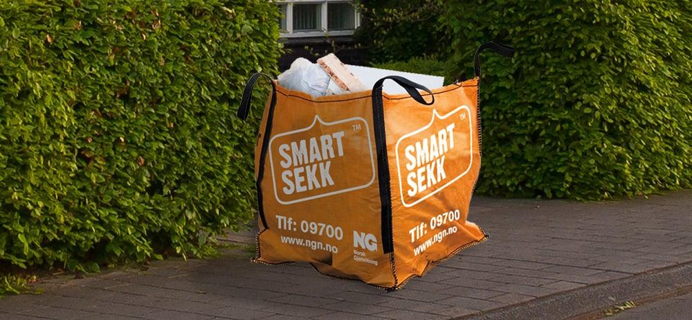 Rydd smidig og miljøriktig med SmartSekk